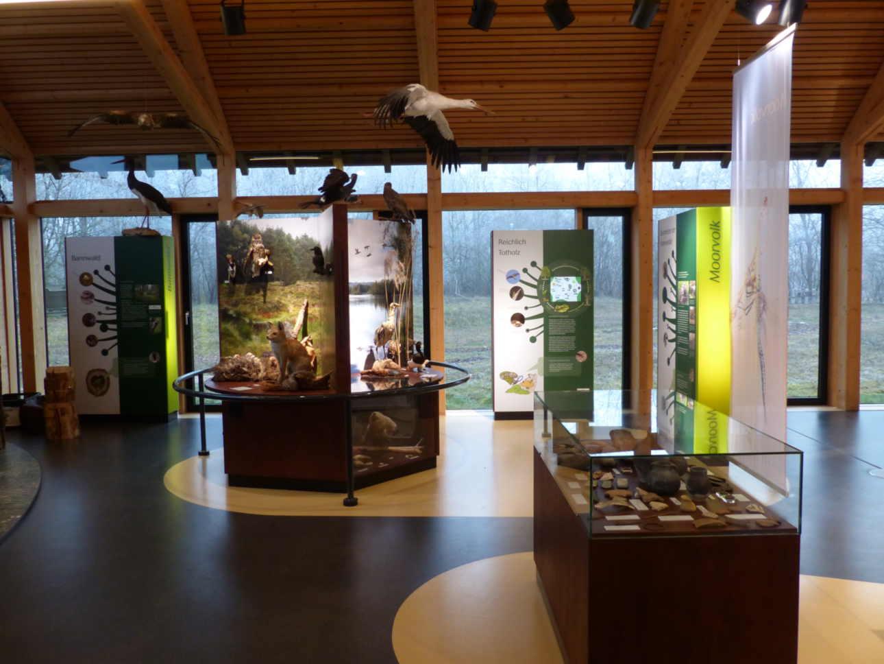 Ausstellung im Naturschutzzentrum Wilhelmsdorf