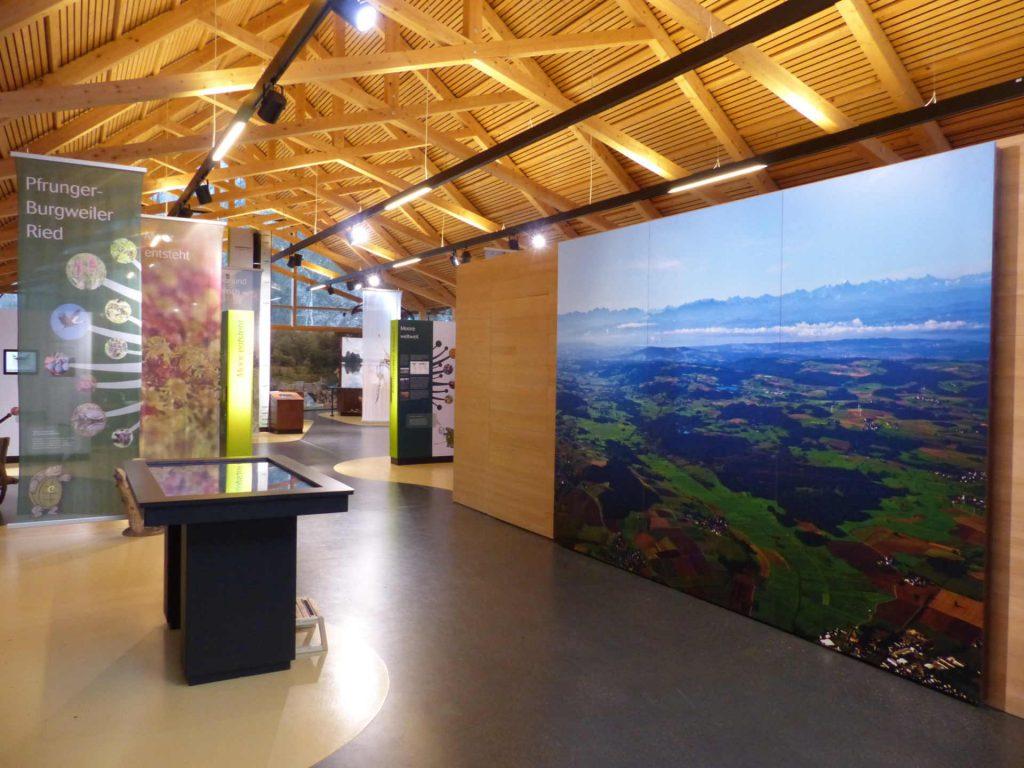 Ausstellung Naturschutzzentrum Wilhelmsdorf